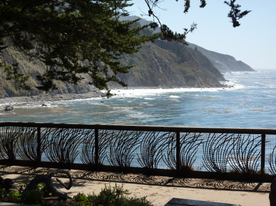 Esalen Pacific ocean view